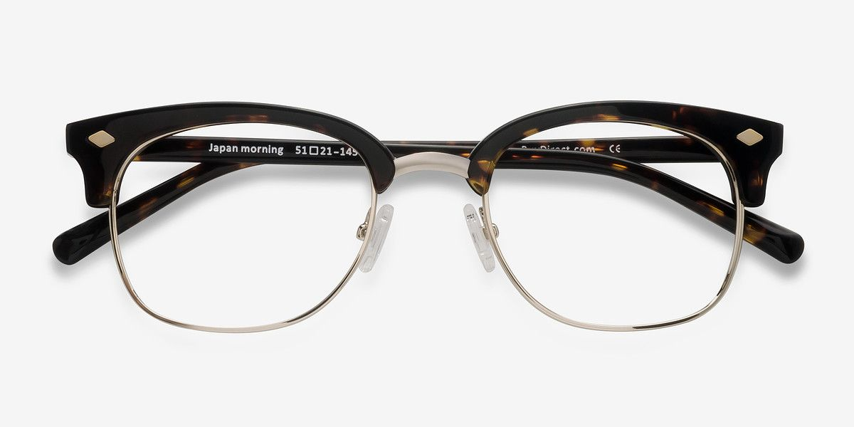 615e5dc82ea5 Japan Morning Dark Tortoise Acetate Eyeglasses from EyeBuyDirect. Come and  discover these quality glasses at an affordable price.