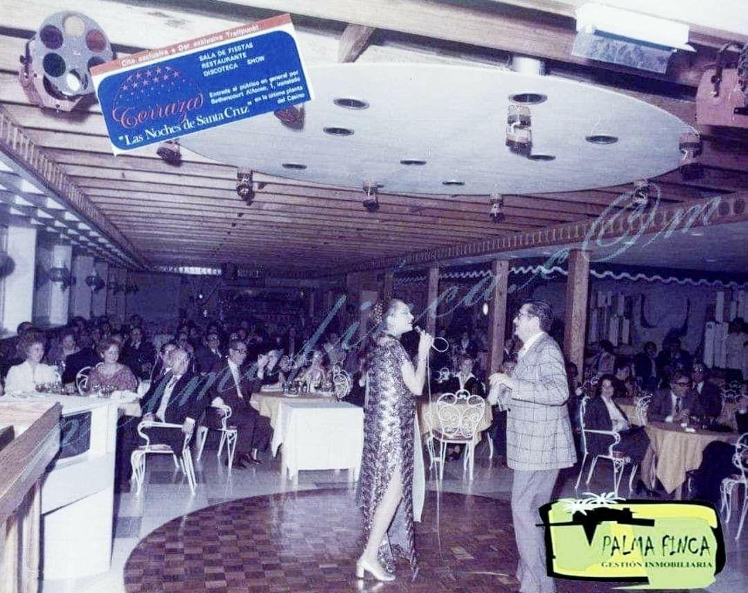 Actuación De Mikaela Sala De Fiestas La Terraza Calle Bethencourt Alfonso Santa Tenerife Actuación Fotos Antiguas