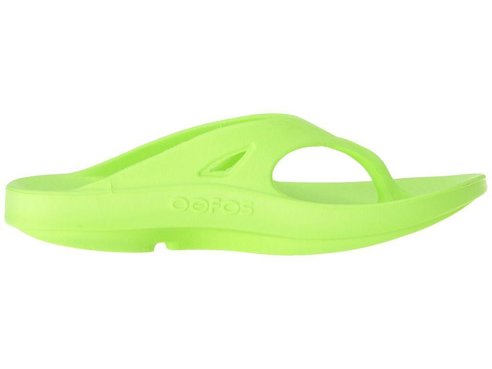 9df27003a1d OOFOS OOriginal Sandal Sandals Citron