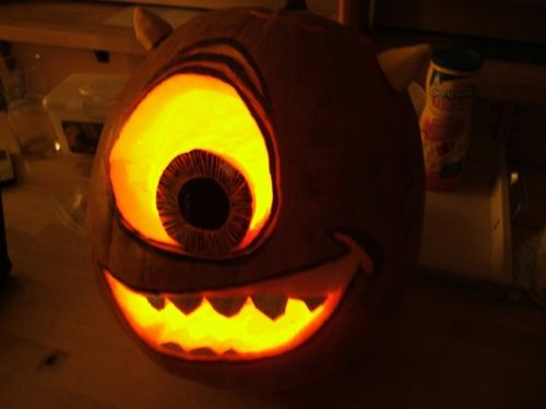 pumpkin template monsters inc  monsters inc pumpkin | Halloween kids, Pumpkin carving ...