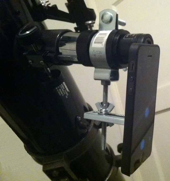How To Make A Smartphone Telescope Camera Mount For 5 Dollars Diy
