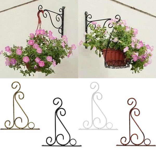 Classic Romantic Wrought Iron Flower Stand Hook Wrought Iron