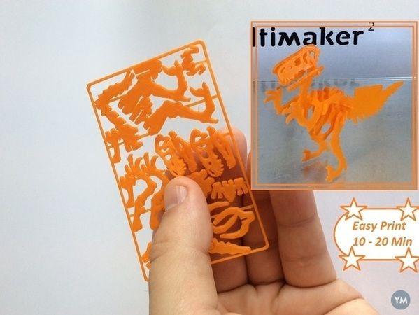 Velociraptor Business Card A Imprimer Peindre Projets Dimpression En 3d Cartes Visiter