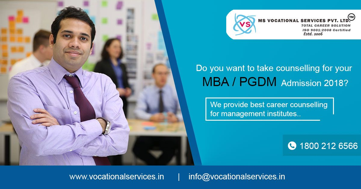 Get Counselling & Admission Information For MBA PGDM