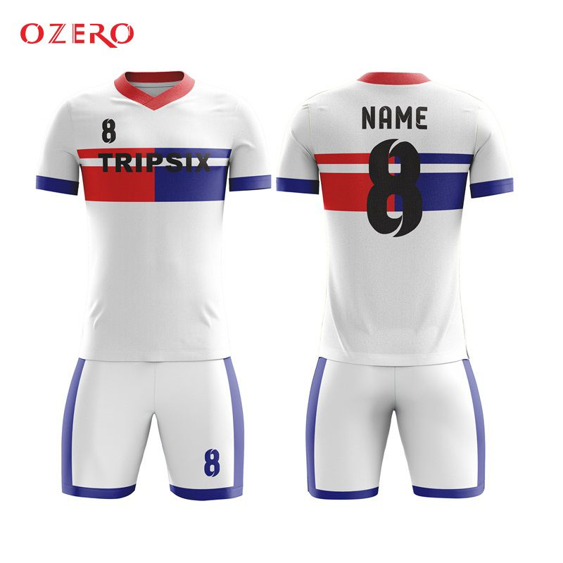 9a6590e453ed4 Find More Soccer Jerseys Information about blue and red soocer shirt  classic club soccer jersey custom