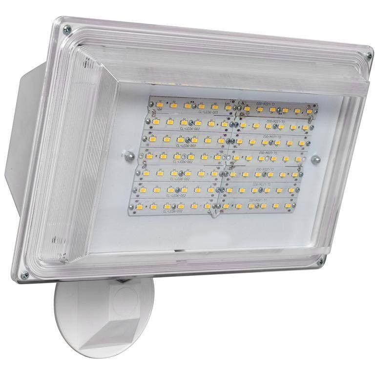 42W - LED - Adjustable Floodlight - Photocell Sensor - White - 4000K