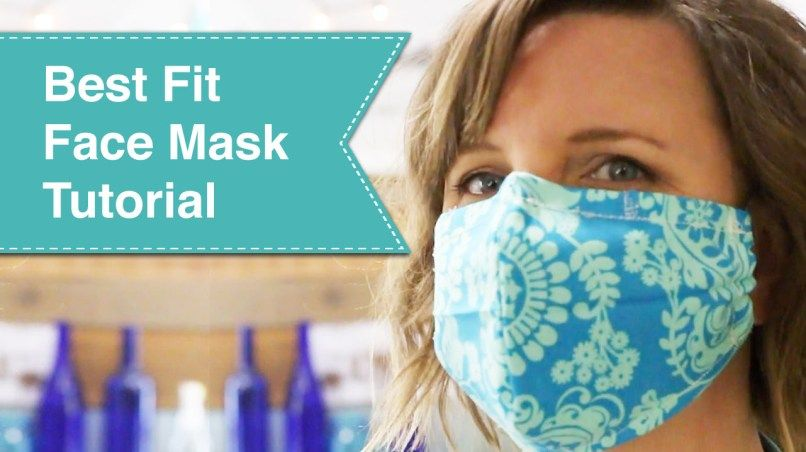Best Fit Facemask Tutorial In 2020 Face Mask Tutorial Mask