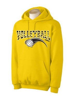 Zebra Hoodie Volleyball Athletic Gold Small « Shirt Add