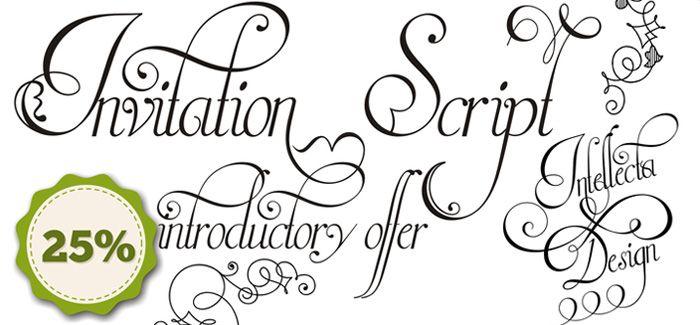 Invitation script font fonts pinterest fonts layouts and create invitation script font stopboris Choice Image