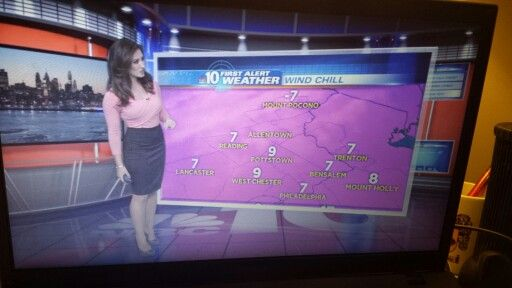 NBC 10 | Weather Gals | Electronics, Flat screen, Television