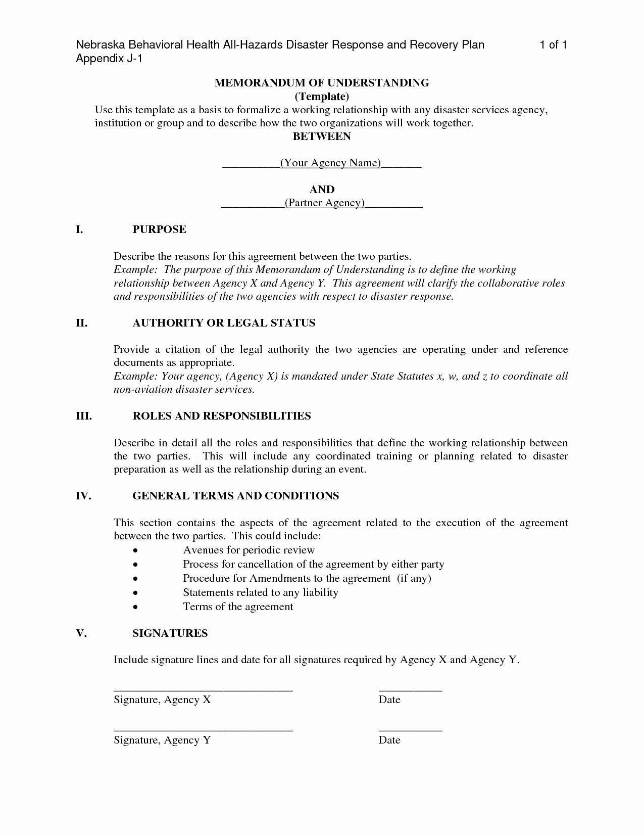 Memorandum Of Agreement Samples In 2020 Lettering Memorandum