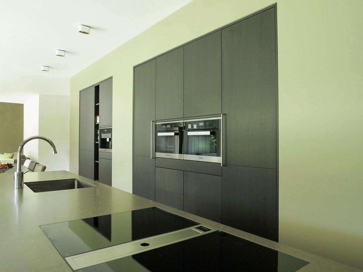 Moderne keukenwand keuken