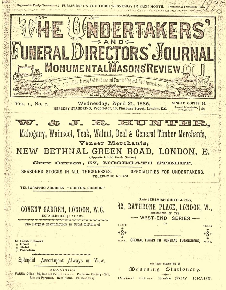 The Undertakers\' & Funeral Directors Journal & Monumental Masons ...