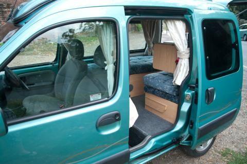 kangoo camper conversion pinterest. Black Bedroom Furniture Sets. Home Design Ideas
