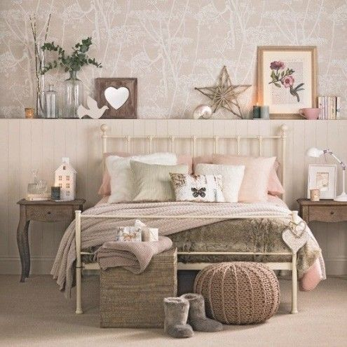 89 Best Decoración Vintage Images On Pinterest | Fashion, Vintage with regard to First Class Shabby Chic Vintage Bedroom Ideas