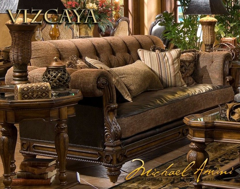 Sofas Sofa Groups Vizcaya Leather Fabric Armless Chaise