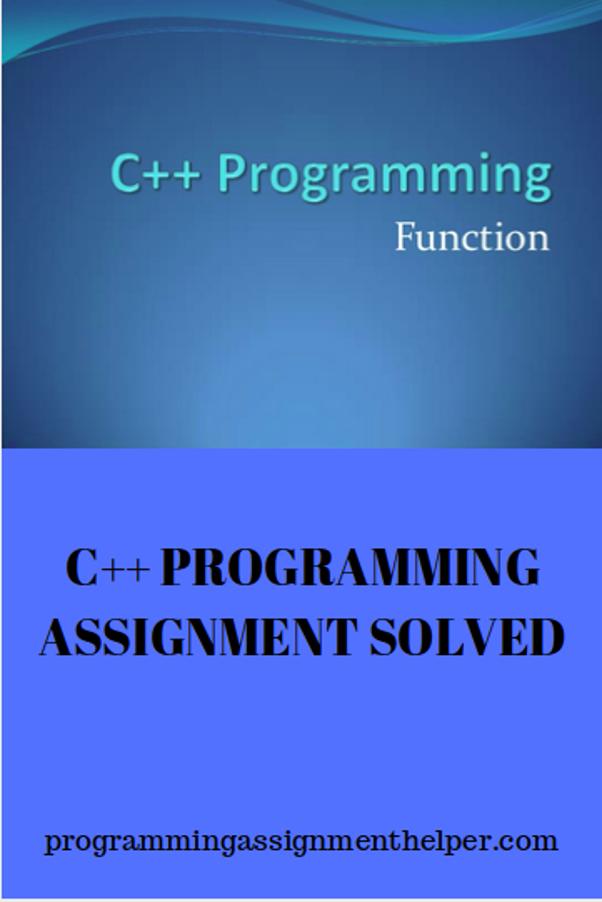 c   programming homework solutions