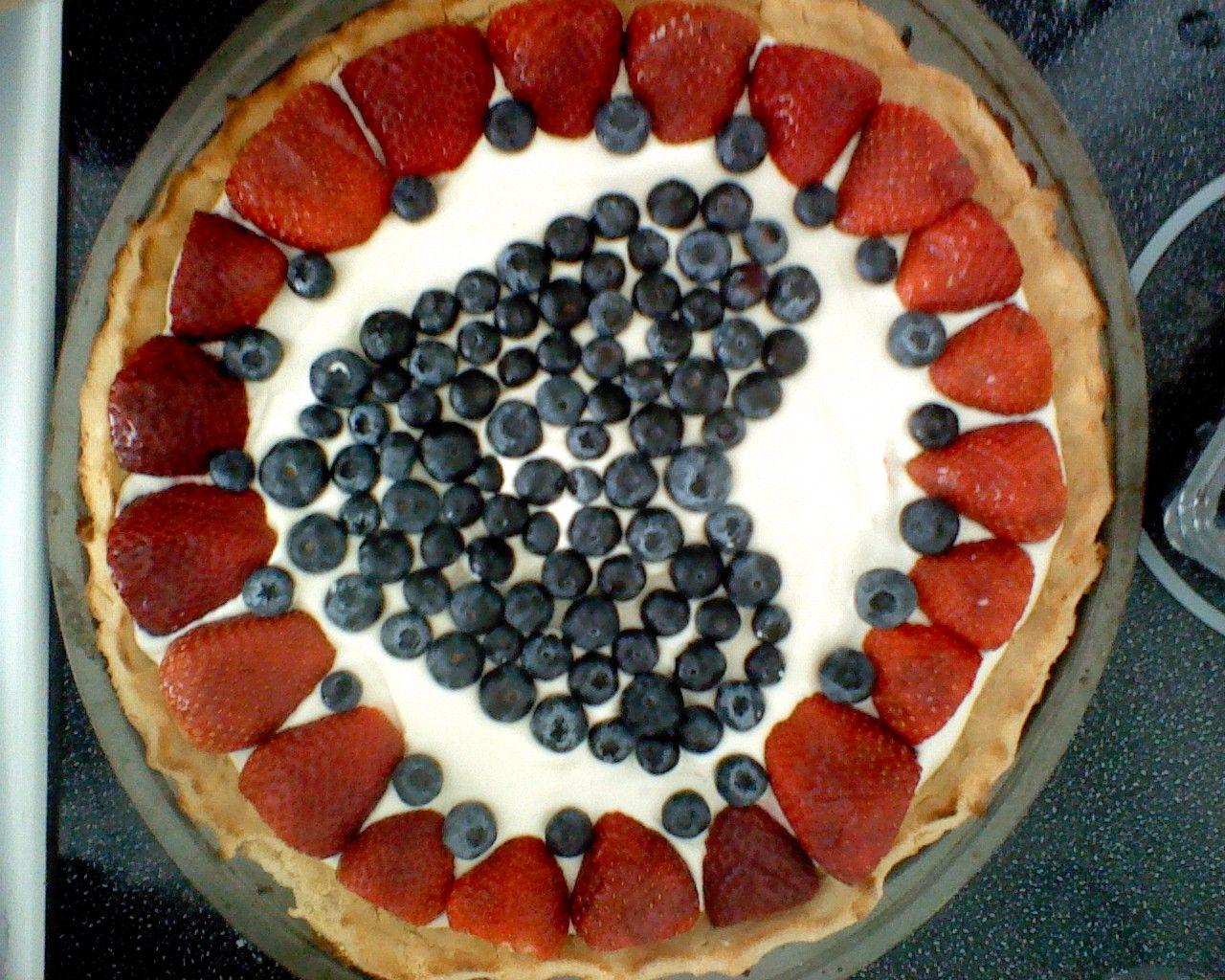 Fruit Pizza (grain free)