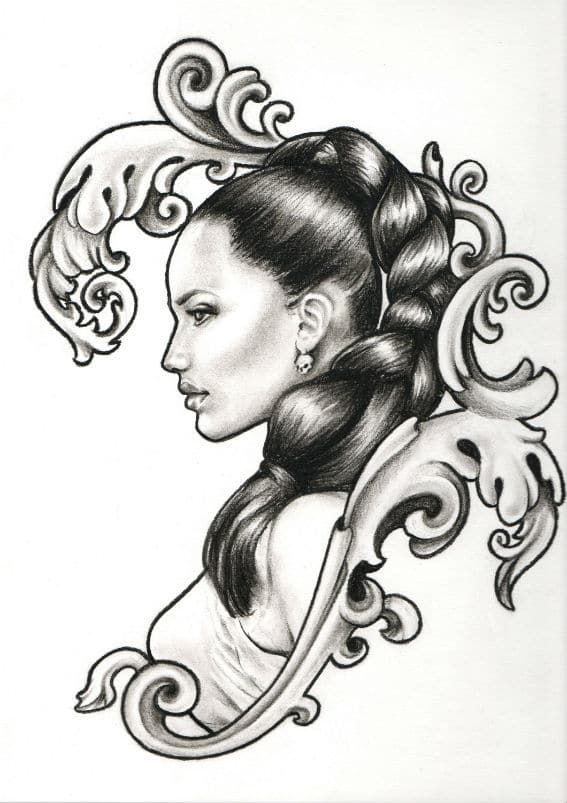 dessin tatouage femme | drawing in 2019 | pinterest | drawings