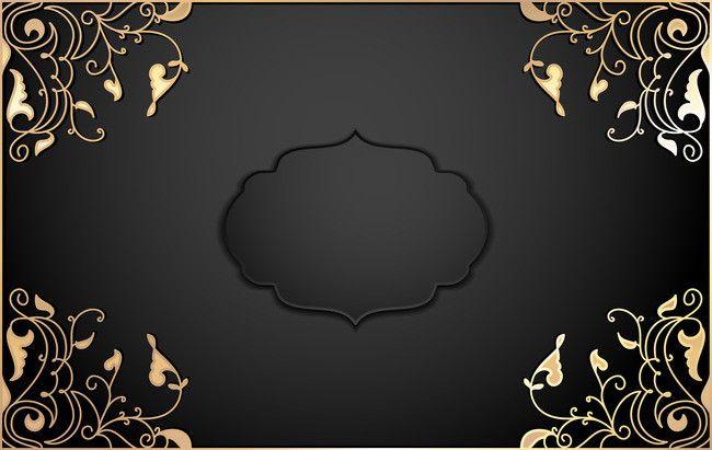 Black Gold Business Invitation Invitation Background Template Gold Wallpaper Background Black And Gold Invitations Gold And Black Background
