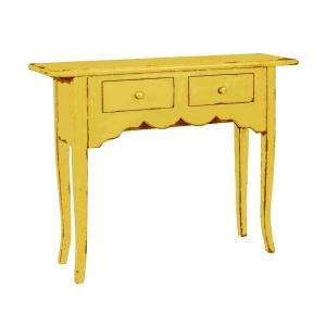 Home Decorators Collection Emily Antique Yellow Console Table 0288000510 Blue Console Table Home Decorators Collection Basement Remodeling