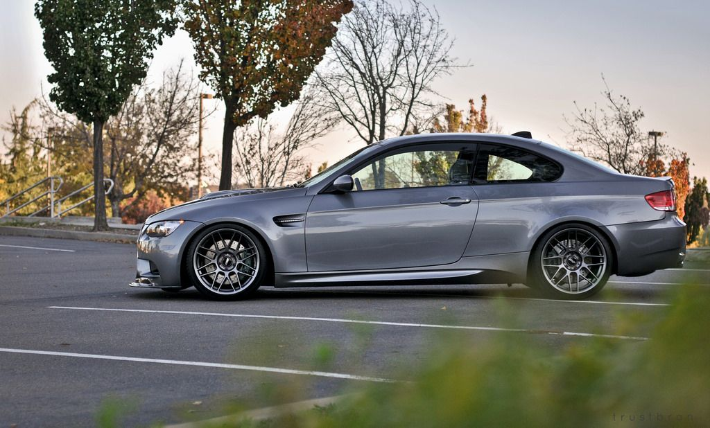 bmw e92 m3 with apex arc 8 anthracite wheels car feature on mppsociety the