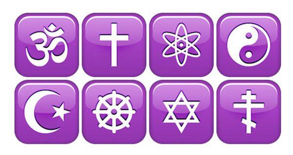 Five Major World Religions Symbols 655595 Vindictive