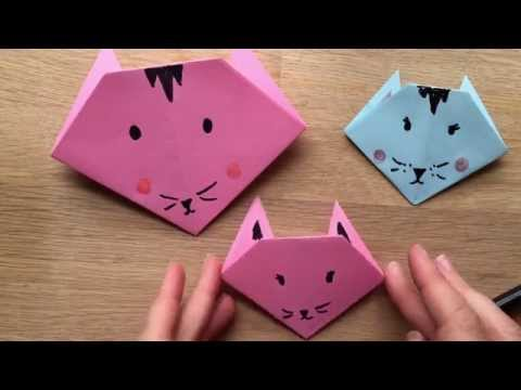 Photo of Origami Cat How To – Easy Origami for Kids.,  #Cat #Easy #Kids , Origami Cat How To – Easy Or…