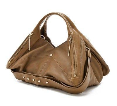 3aa5314780 New with Tags Authentic Pour La Victoire Olive Leather Nouveau ...