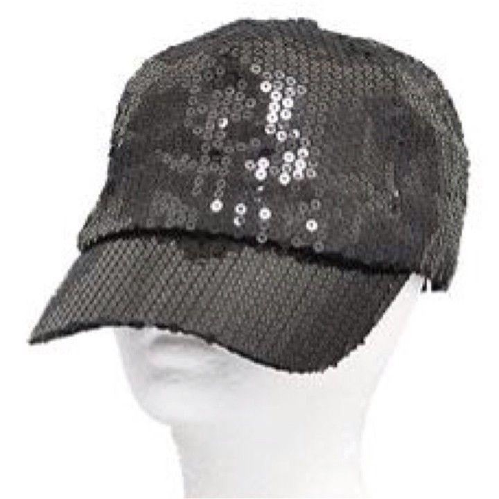 778f31de2e5 Black Sequin Cap from Morties Boutique for  9.95