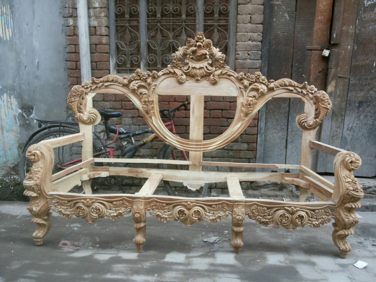 Pin by mohd alam on Firoz khan and handcart wood carving furniture