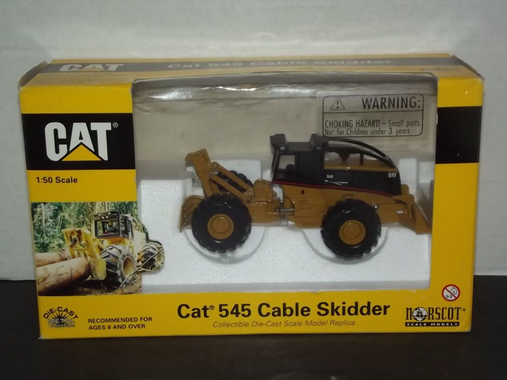 Norscot Caterpillar CAT 545 Cable Skidder 1:50 Scale Die