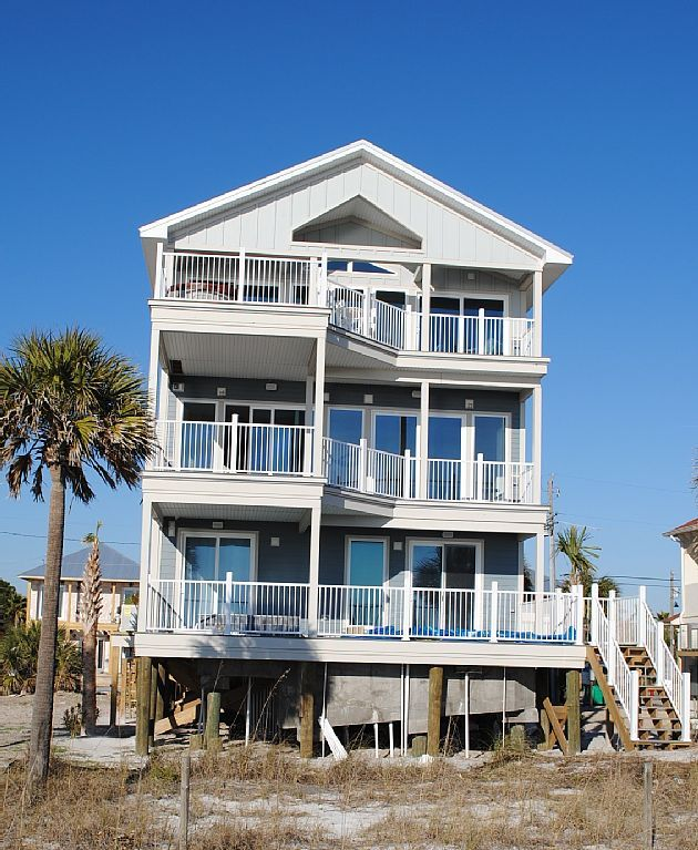 Vrbo Com 662098 Water Front Dream Home With Private Pool Sleeps 22 Vacation Rental Beachfront Vacation Beachfront Rentals