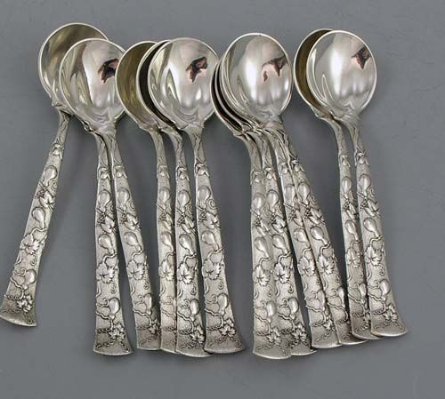 Stratford By International Sterling Silver Olive Spoon Ideal 5 14 Custom Made