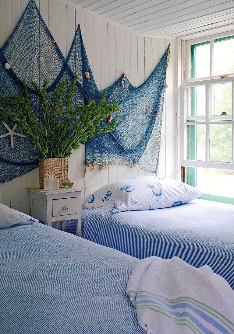 Wunderbar Coastal Style Ideas Beach House Interior Furniture Fischernetz, Strand Deko,  Anker Kinderzimmer, Landhaus