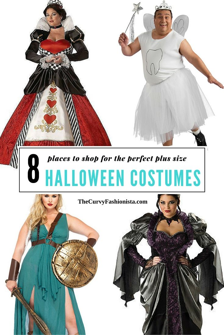 8 Places to Snag a FUN and Unique Plus Size Halloween Costumes ...