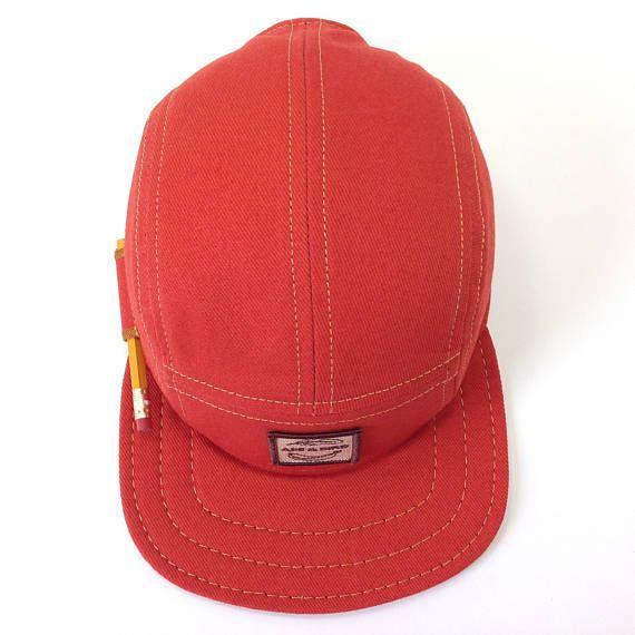 2f26fb4a3dd 5 Panel Hat Pencil Hat Camp Cap Carpenter Hat Baseball Cap Snapback ...