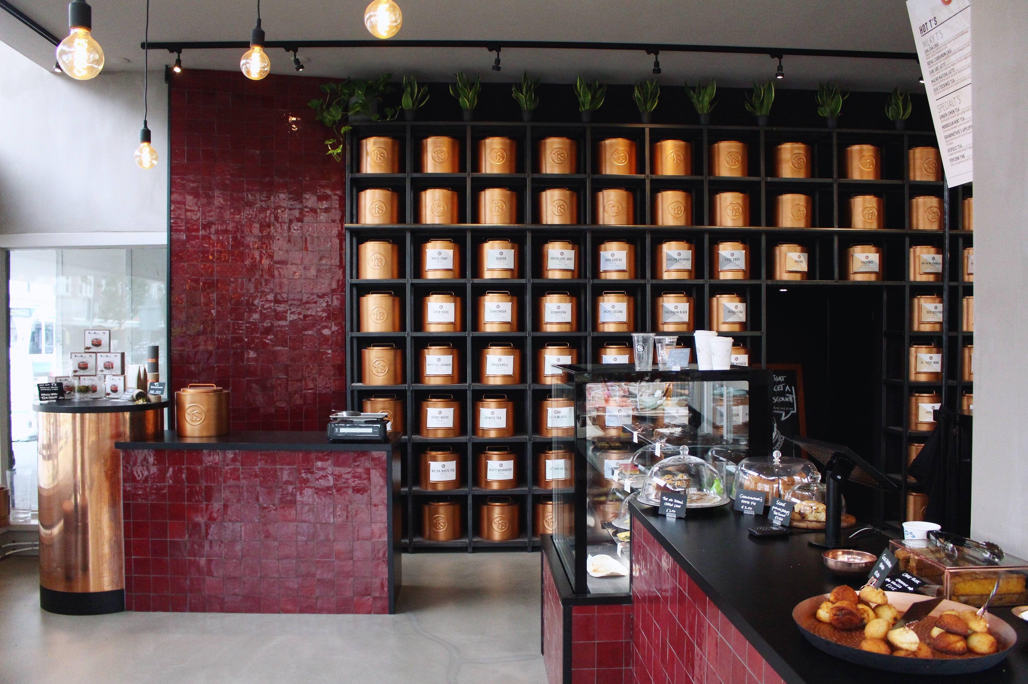 T's Teabar hotspot in Amsterdam - Only tea - Fashiable