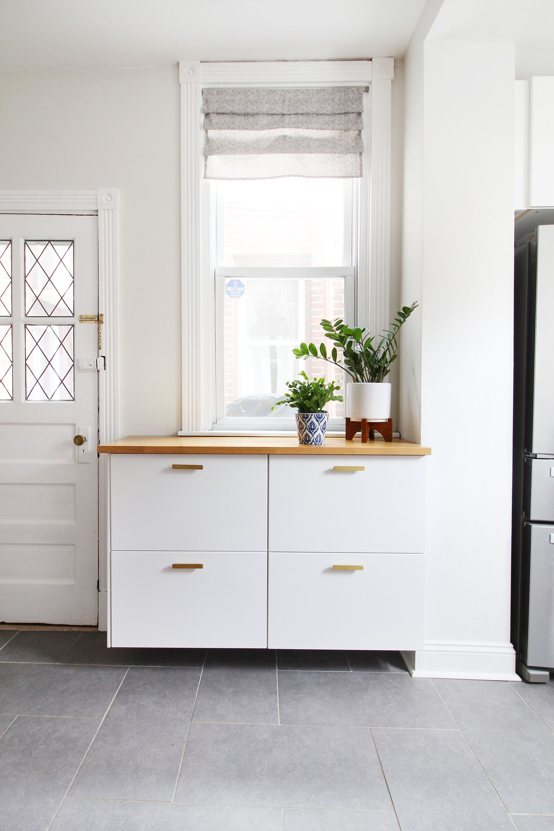 Our Modern White Kitchen Renovation Two Years Later | Mix & Match ...