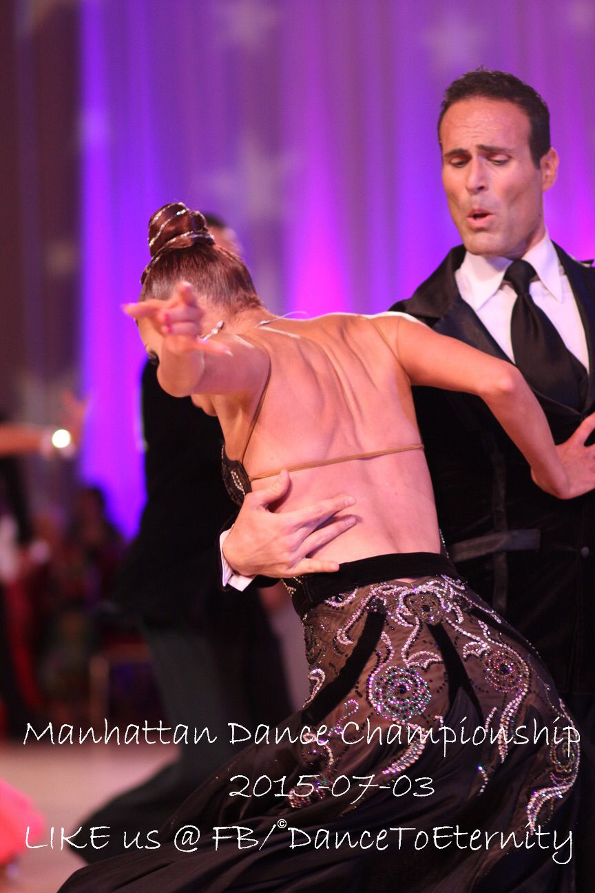 Manhattan Dance Competition 2015 - Open Pro American Smooth ...