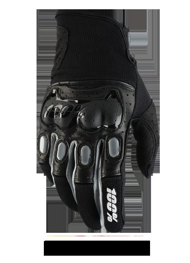 Black Grey Bike Gloves Motocross Gloves Riding Gloves