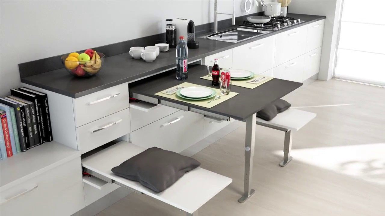 T Able Pull Out Table With Leg Support Bpf Small Kitchen