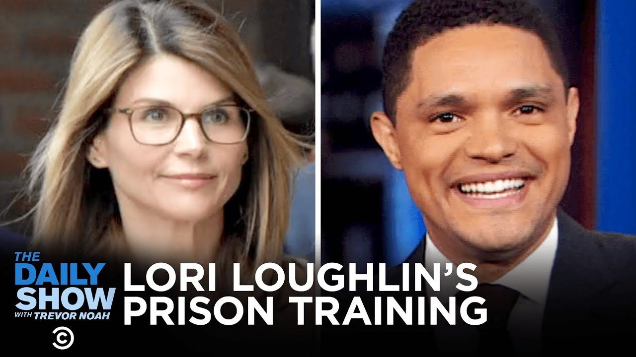 Lori Loughlin S Prison Training John Bolton S Testimony Andrew Cuomo S Good Deed The Daily Show Youtube In 2020 With Images Lori Loughlin The Daily Show Andrew Cuomo