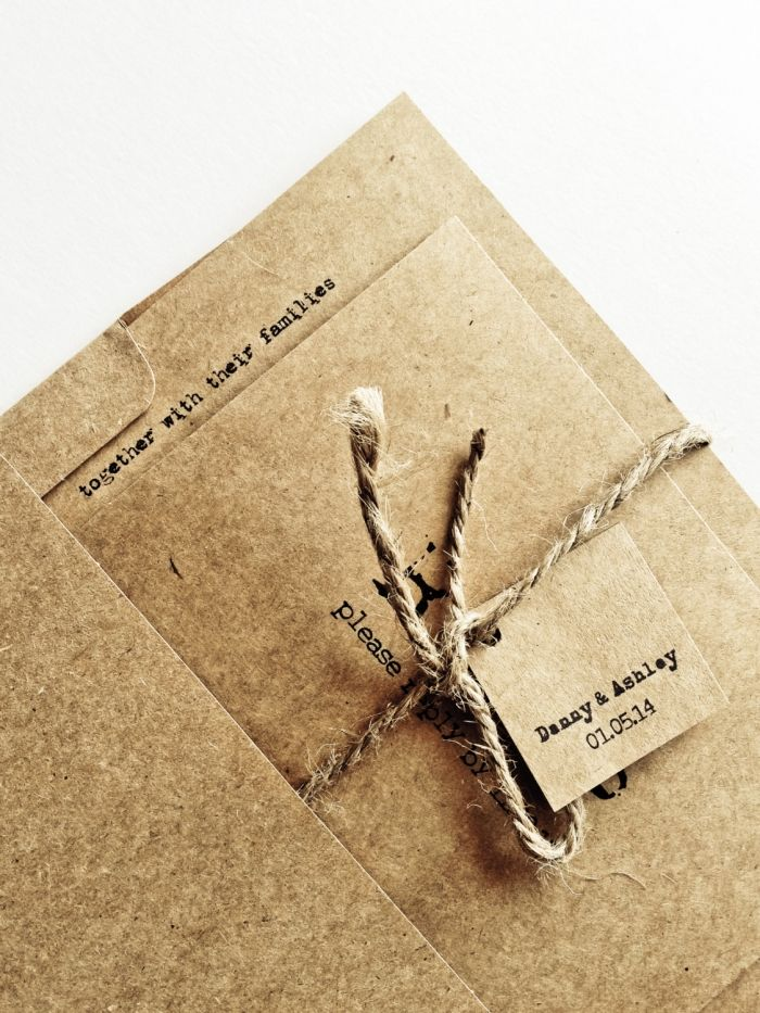 The Perfect Rustic Invitations For Your Country Wedding | Mad gabs ...