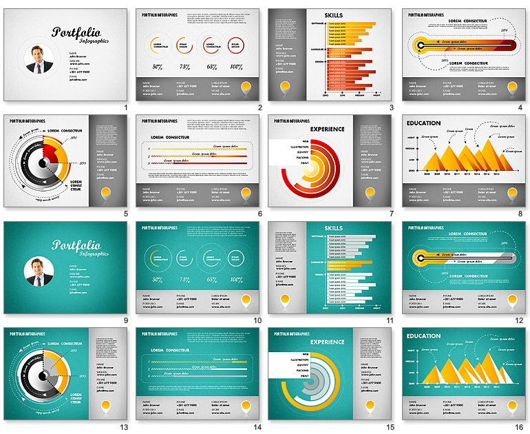 Powerpoint Resume Image Result For Powerpoint Template For Resume  Ds Cv  Pinterest