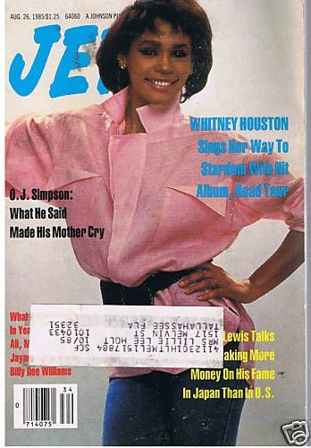 Jet Magazine United States 26 August 1985 Jet Magazine Ebony Magazine Ebony Magazine Cover
