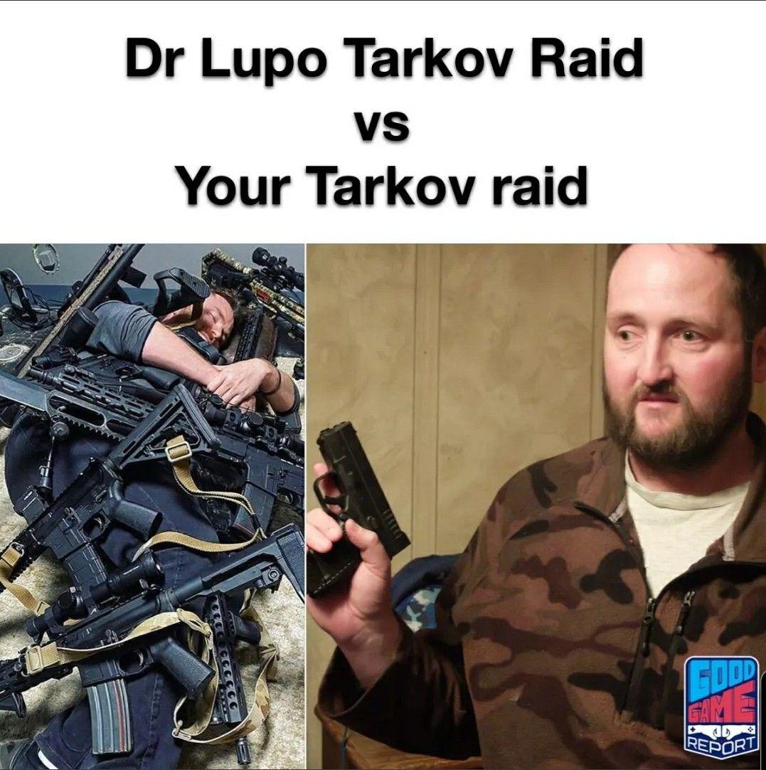 Escapefromtarkov Tarkov Meme Drlupo Funny Fail Noob Pc
