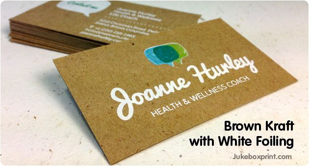 Brown kraft and 100 recycled business cards from jukeboxprint brown kraft and 100 recycled business cards from jukeboxprint available in 18pt colourmoves Image collections
