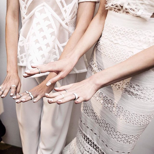 SS '16 backstage details #jsnyfw #nyfw #bhts