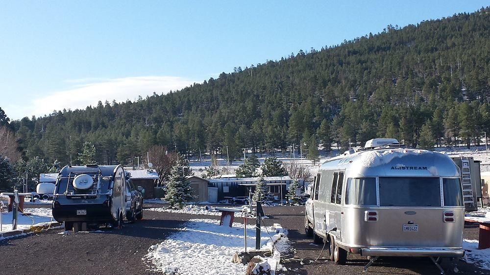 rv park in the winter in 2020 Camping trip list, Rv